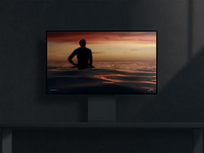 JW.S® (Screensaver) ambient product screensaver monitor display jon way jws dark compositing