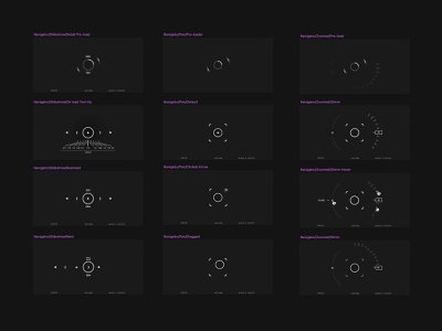JW.S_Photo 🕹 States (WIP) aristide benoist nav navigation interactions states jw.s jon way design art direction