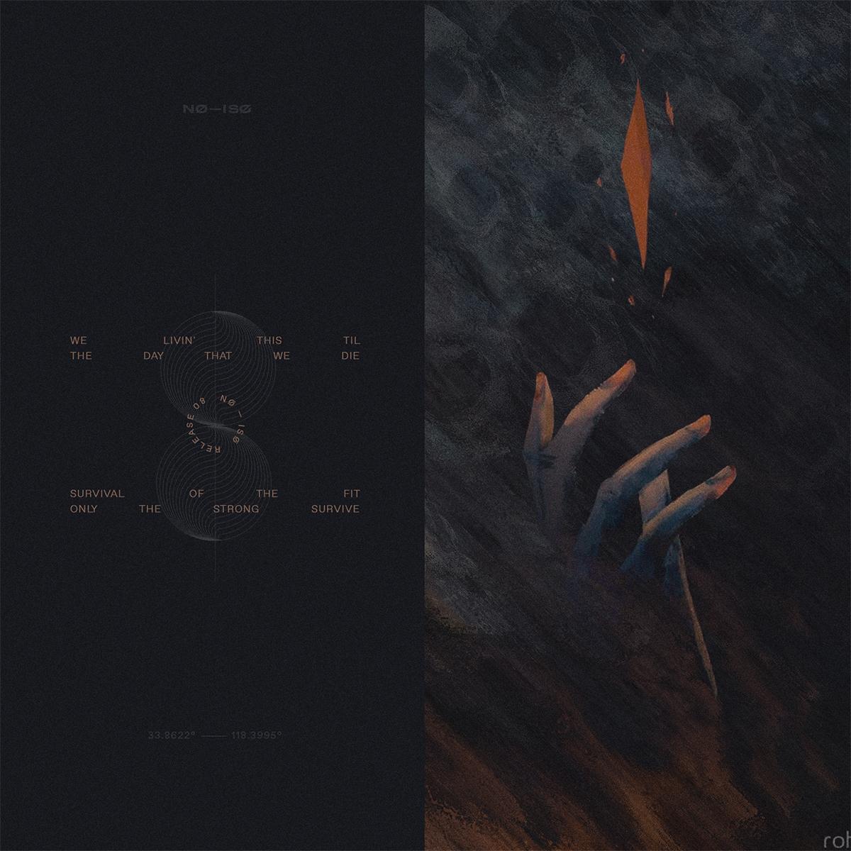 No iso album cover release08