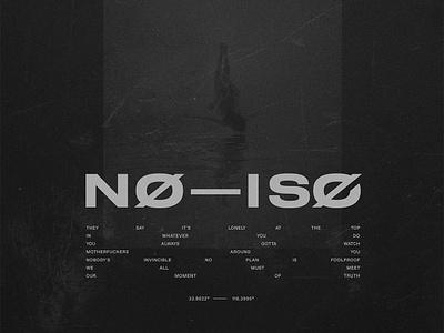 NØ — ISØ // Release 09 grunge cover art cover artwork dark composite cover mixtape playlist no iso