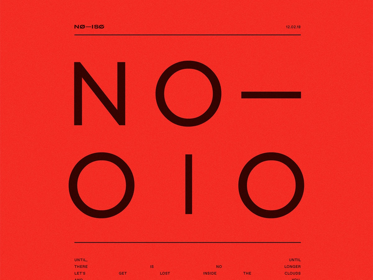 NØ— ISØ // Release 10 mixtape cover art no-iso spotify red bright mac miller cover playlist