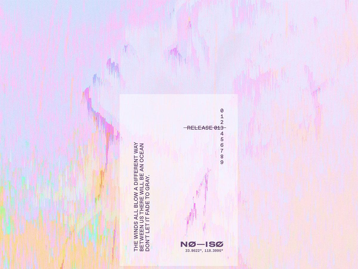 NØ— ISØ // Release 13 spotify no–iso no iso random werid pastel album cover design playlist album cover