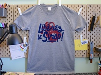 Libérez le Sirop! (Free the Syrup!) Shirt shirt design maple syrup maple lettering