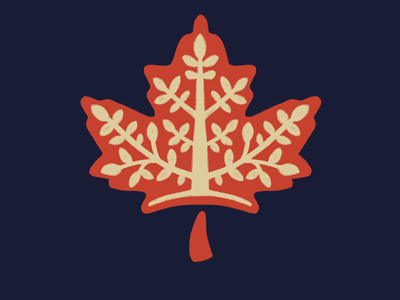 Maple Leaf and Tree plant icon trees maple leaf maple
