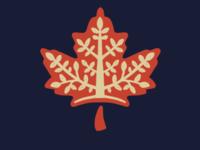 Maple Leaf and Tree plant icon trees maple leaf maple