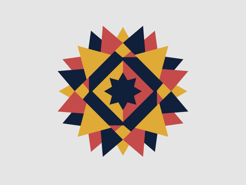 Barn Quilt Star pattern quilt geometric barn quilt