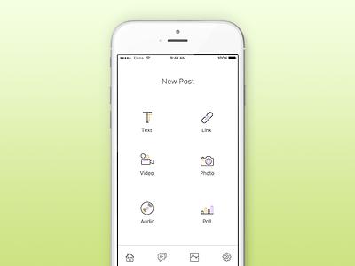 Daily U I#090 - Create New dailyui create new create new mobile design app design user interface design ui design daily ui dailyui