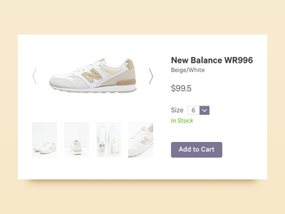 Daily UI #096 - Currently In Stock dailyui currently in stock currently in stock in stock web design user interface design ui design daily ui dailyui