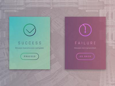 Daily UI 011 - Flash Message (Error/Success)