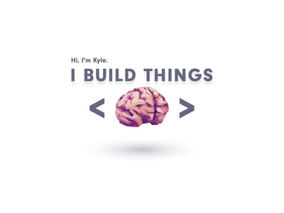 Portfolio Assets brain lowpoly react design portfolio
