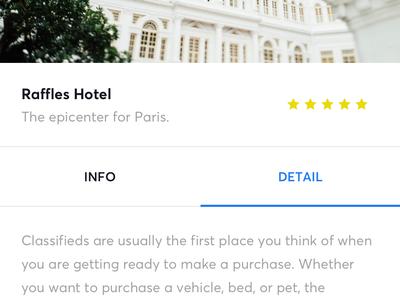 Hotel Booking ux ui app ios minimal clean booking hotel