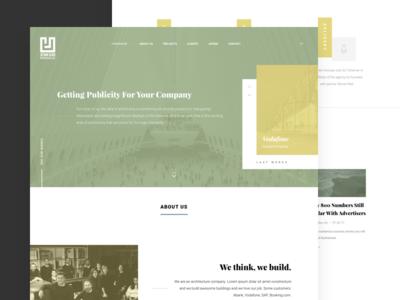 Jeyan Ulku Architecture Website website slider architecture web loading ux ui