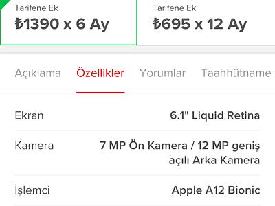Vodafone Designathon 2019 🥉🏆 3rd Winner (E-Shop Mobile) application ios compare checkout map ecommerce design ux ui mobile app
