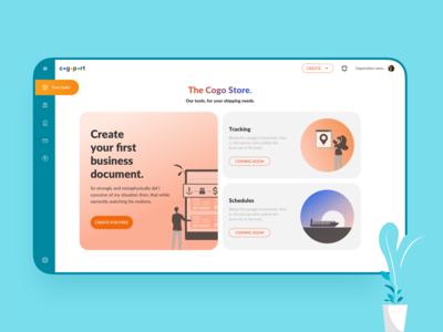 Cogostore - Landing Page