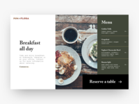Daily UI: #043 Food & Drink Menu