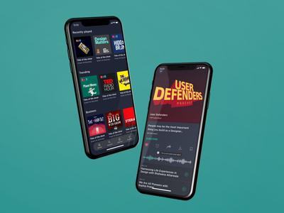 Filler Podcast Concept App
