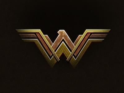 Wonder Woman Logo in Photoshop photoshop