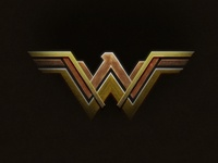 Wonder Woman Logo in Photoshop