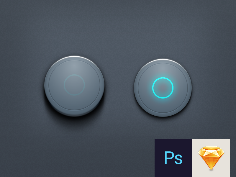 Sketch free download psd photoshop sketch ui ux on off vector power button power button
