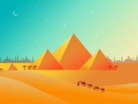 Pyramid illustrations