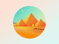 Pyramid illustrations1