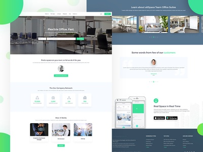 Landing page (WIP) website web ux ui page landing company indianic design clean find