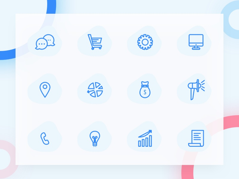 Freebie: Simple Line Icons by TushiT on Dribbble