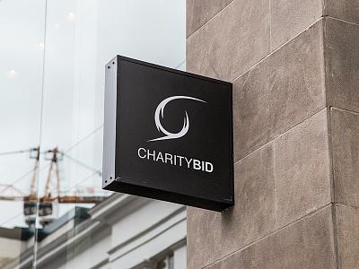 Charitybid Logo branding brand brandidentity business logodesigns logoidentity logo
