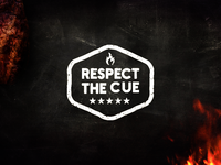 Respect The Cue | Rejected Logo Identity