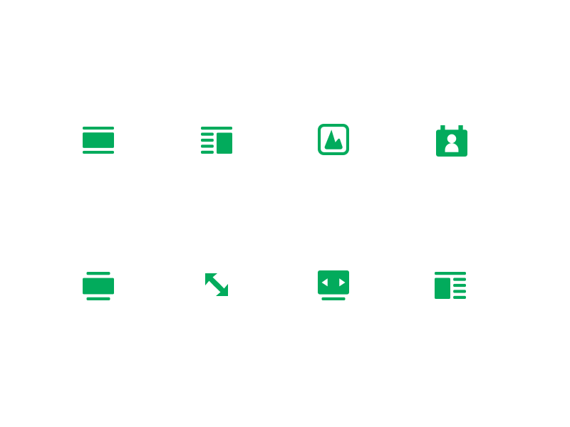 Icons for prezly 2x