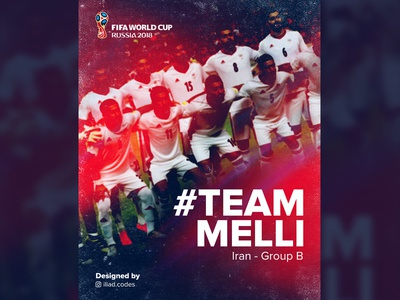 Team Melli - World Cup 2018