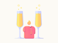 Anniversary Mimosas