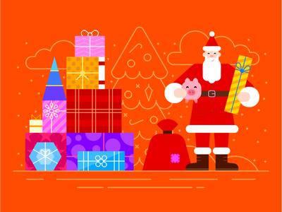 🎁 Generous Santa