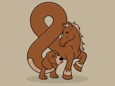 Dog & Pony Show dog pony ampersand dog and pony andimal ampersandimal