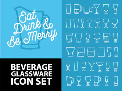 Beverage Glassware Icon set bar drinks mixed drinks drink icons icon set iconset craft brew folkster drink beer pitcher icons