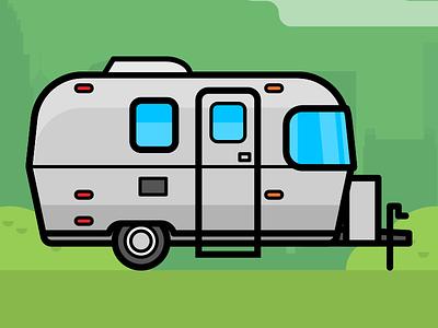 Airstream Sport 16 airstream sport trailer tt travel trailer classic camping rv camper airstream