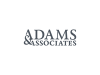 Full Logotype for Adams & Associates Law Firm