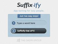 Suffixify