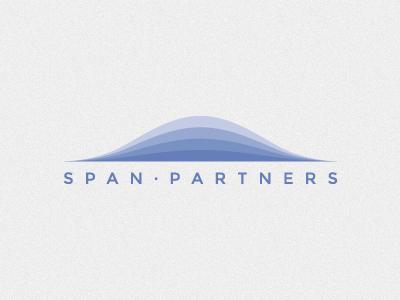 Span Partners Logo logo logotype gradient blue vector montserrat