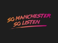 Logo idea for a popular Manchester radio station