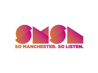 Logo idea 2 for a popular Manchester radio station