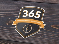 365 Birthday Sticker