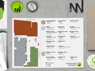 Ateliers de la Tannerie flyers logo identity visual