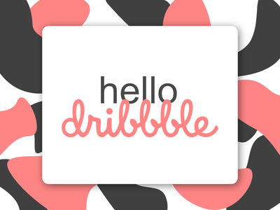 Hello Dribbble! hello debut