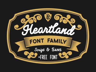 Heartland typeface