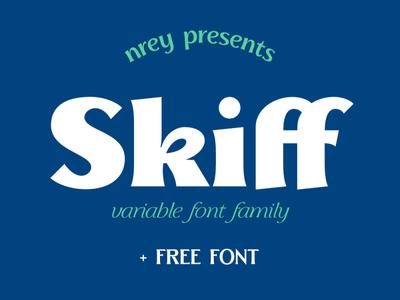 Skiff typeface