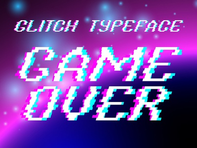 Typeface Game Over
