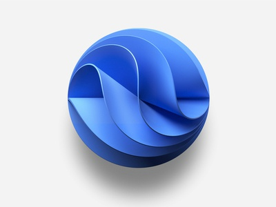 Microsoft Azure logo branding illustration artwork graphics deepshape design microsoft paint azure microsoft shape geometry