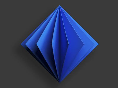 Microsoft Azure digital web render 3d branding form logo illustration geometry design deepshape ai azure microsoft