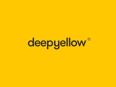 Deepyellow yellow letter letterform type monogram logotype illustration design symbol mark identity logo